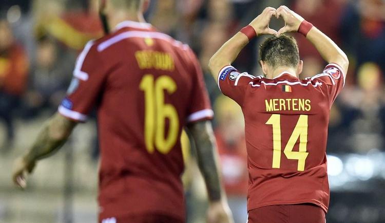 Belgio-Andorra 6-0, doppietta Mertens