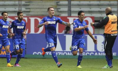 Il Sassuolo sbanca il Tardini, infliggendo al Parma una dura sconfitta