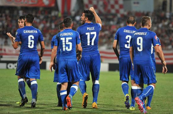 Brutta Italia, a Malta decide Pellé