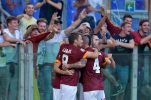 Roma-Chievo 3-0: reazione da big, veneti travolti