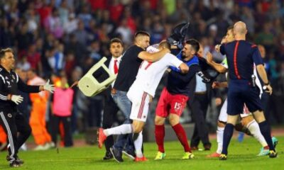 Gli scontri tra Serbia e Albania