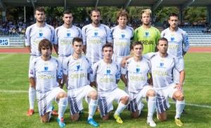 Serie D: La formazione del Sondrio vittoriosa per 2-1 contro la Castellana