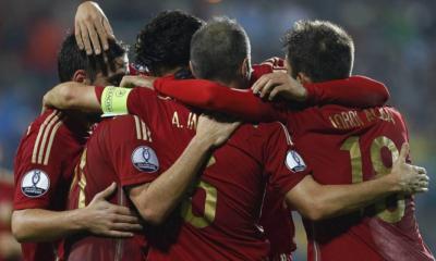 Lussemburgo-Spagna 0-4, qualificazioni Euro 2016