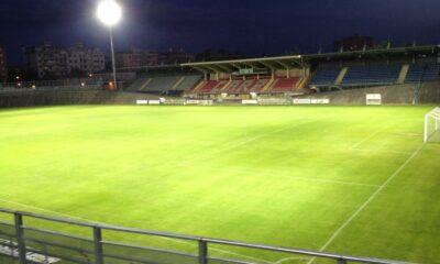 Una veduta dello stadio Sandro Cabassi di Carpi