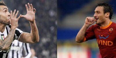 Tevez-Totti