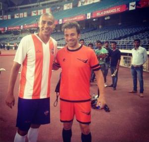 Il calcio minore, come quello azero, mette a dura prova molti campioni, come Trezeguet e Del Piero in India