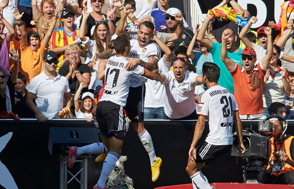 Valencia-Atletico Madrid 3-1