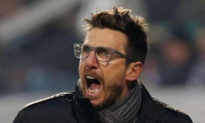 Eusebio Di Francesco, tra i migliori allenatori della Serie A