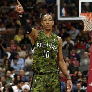 Demar Derozan, stella dei Toronto Raptors