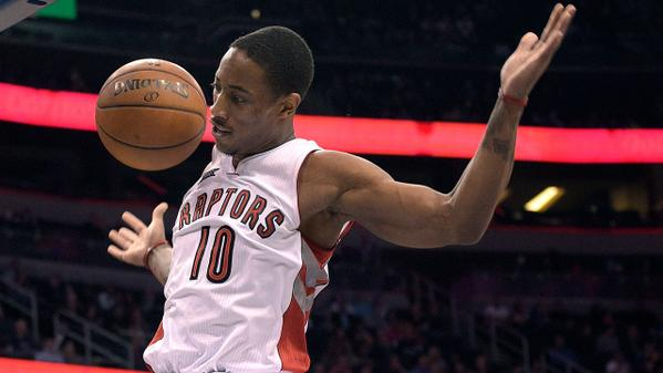 DeRozan leader della classifica delle Top 5 Plays Nba.