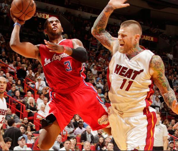 Sfida Clippers-Heat nella notte Nba.