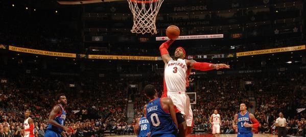 Johnson di Toronto è il re delle Nba 10 Top Plays.