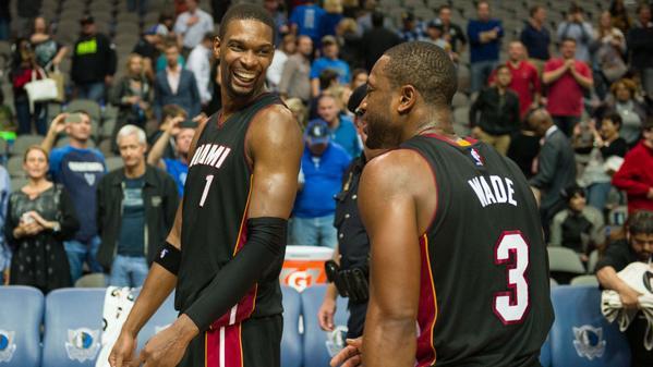I nuovi Big Three di Miami protagonisti nella notte Nba.