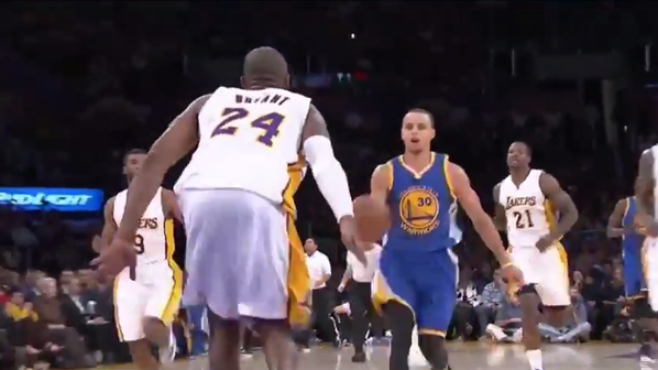 Kobe e Steph, protagonisti della Top 5 Plays Nba.