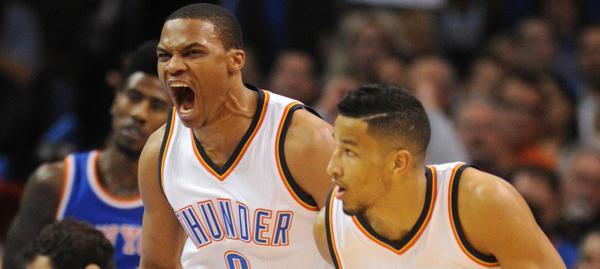 Westbrook devastante nella notte Nba.