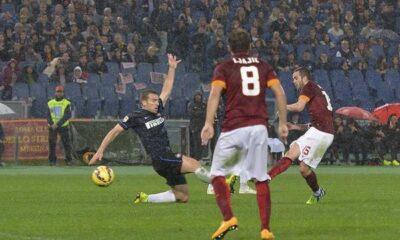 Pjanic decisivo in Roma-Inter 4-2.