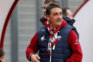 Roberto Boscaglia, allena il Trapani dal 2009