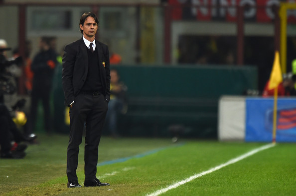 Filippo Inzaghi, tecnico del Milan