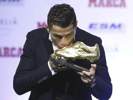cristiano ronaldo scarpa d'oro