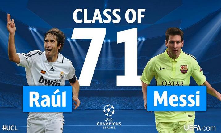 """Messi raggiunge Raul, ora è lui il """"Pichichi"""" della Champions"""