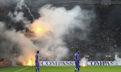 Italia-Croazia è stata sospesa in due occasioni