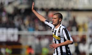 Candreva ai tempi della Juventus