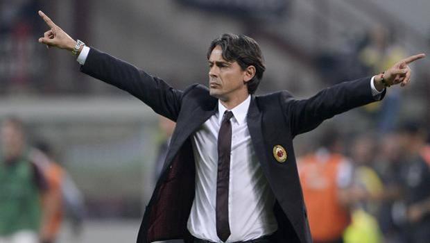 Fiilippo Inzaghi, allenatore del Milan