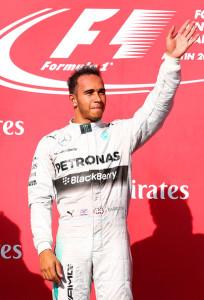 Vincitore del gran premio USA: Lewis Hamilton