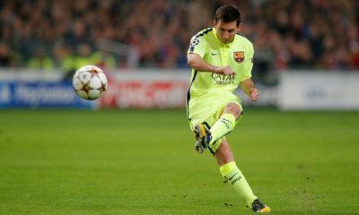 Lionel Messi, campione del Barcellona