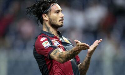 Mauricio Pinilla, attaccante del Genoa