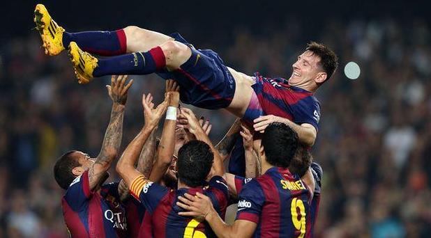 Barcellona-Siviglia 5-1, Messi