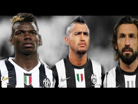 Pirlo Pogba Vidal Juve Juventus