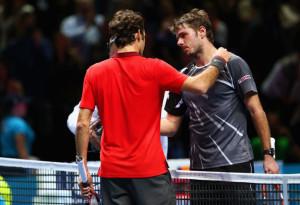 Federer sconfigge Wawrinka e accede all'ultimo atto delle Finals. Incontrerà Djokovic