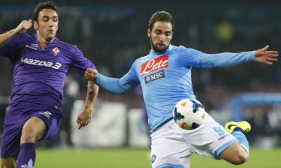 Gonzalo Higuain, decisivo nella vittoria del Napoli sulla Fiorentina