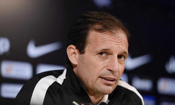Conferenza Allegri pre Lazio-Juventus
