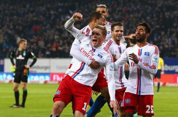 Amburgo-Werder Brema 2-0