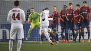 Francesco Totti gol Cska Mosca-Roma