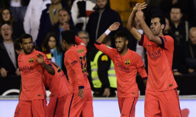 Valencia-Barcellona 0-1, Busquets