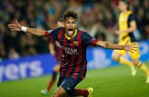 Neymar, il migliore in campo stasera