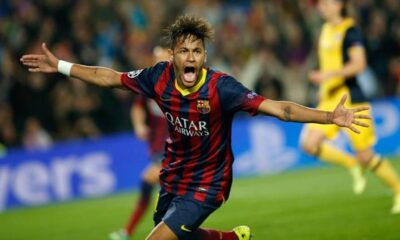 Neymar, campione brasiliano del Barcellona