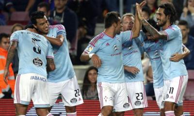 Il Celta Vigo batte al Camp Nou il Barcellona
