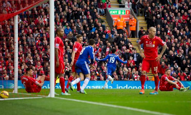 Liverpool-Chelsea 1-2