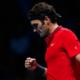 Roger Federer, vincitore del suo incontro nel girone B del masters di Londra
