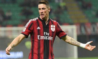 Fernando Torres titolare in Milan-Inter in cerca del primo gol a S.Siro