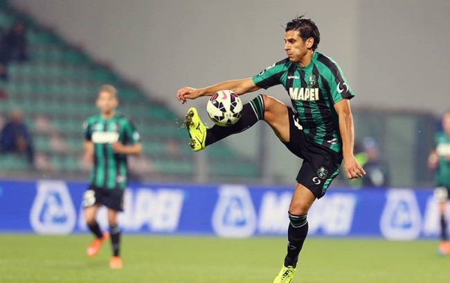 Sergio Floccari, due reti in Serie A quest'anno