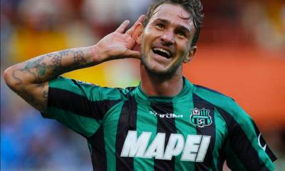 Antonio Floro Flores, autore del gol della vittoria del Sassuolo contro il Torino