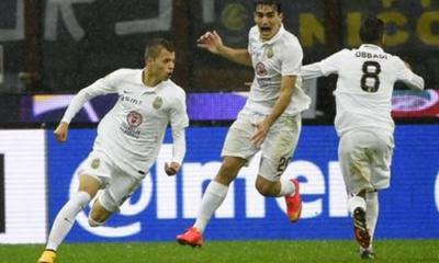 Nico Lopez punisce l'Inter nel finale: 2-2 col Verona