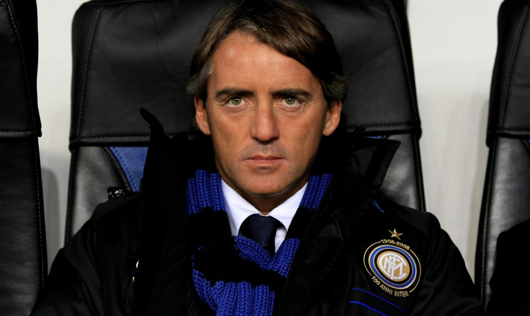 Mancini, nuovo allenatore dell'Inter