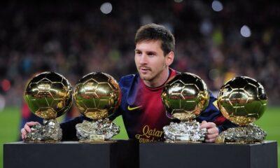 Leo Messi alla caccia del quinto Pallone d'oro in carriera.