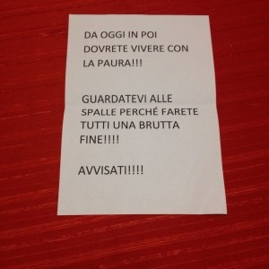 Corvetto: minacce al pd varese